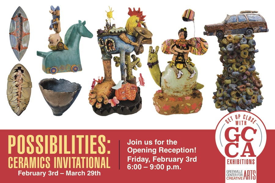 POSSIBILITIES- GCCA CERAMICS INVITATIONAL